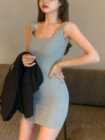 Sleeveless Mini Sheath Dress