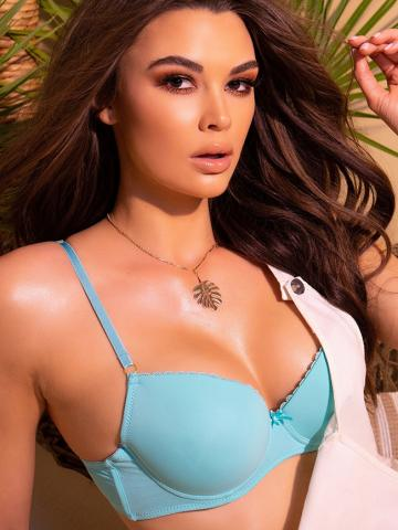 The Perfect T-Shirt Bra by Spreegirl, Mint, Size 36C / Padded Bras, Push-Up Bras - Yandy.com