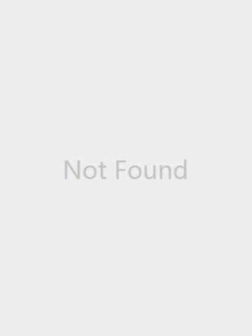 Vintage Geometric Round Alloy Glass Plum Blossom Pattern Print Earrings